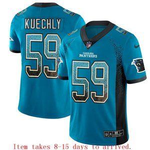 Carolina Panthers Luke Kuechly Drift Jersey